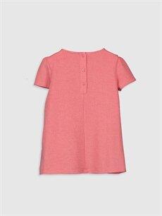 %85 Polyester %13 Viskoz %2 Elastan Düz Kız Bebek Basic Elbise