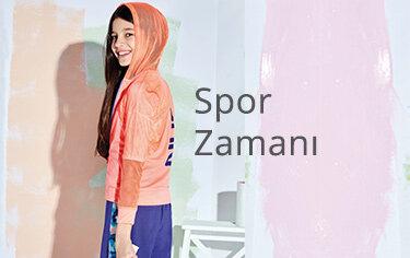 kız çocuk spor kıyafetleri